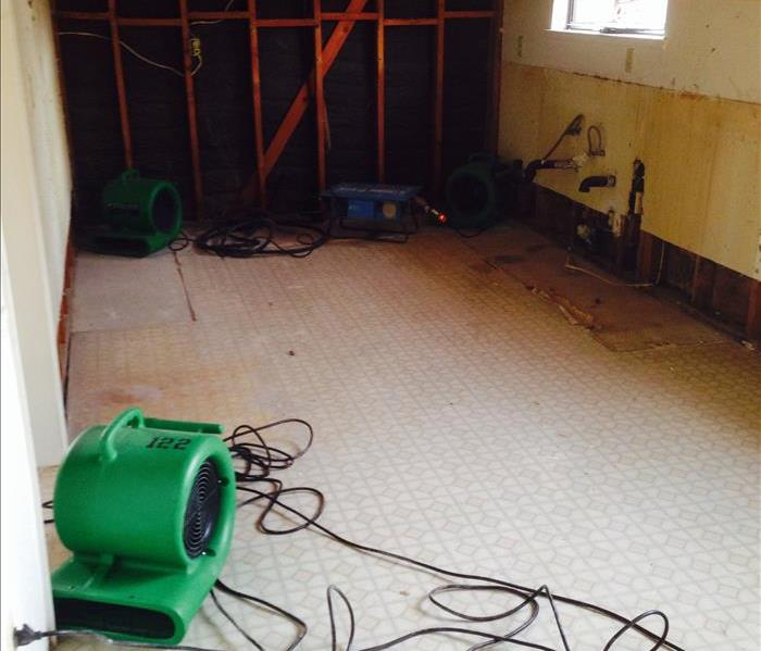 Storm Water Damage After
