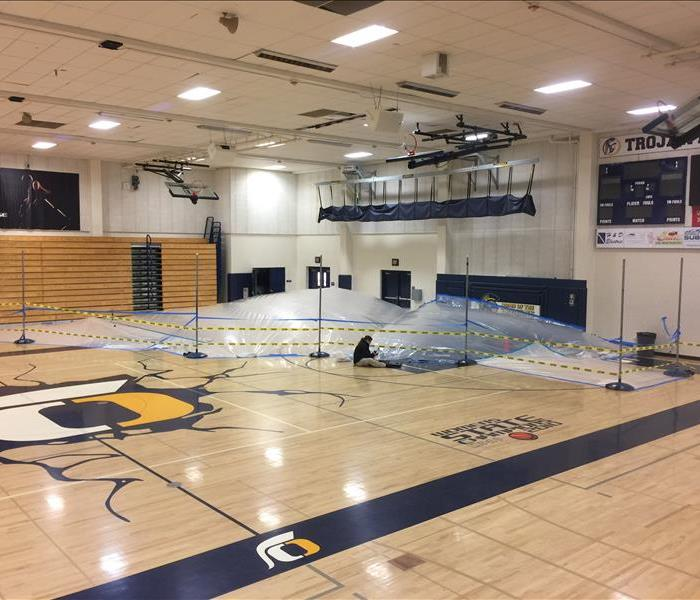 Oak Ridge High School Water Damage