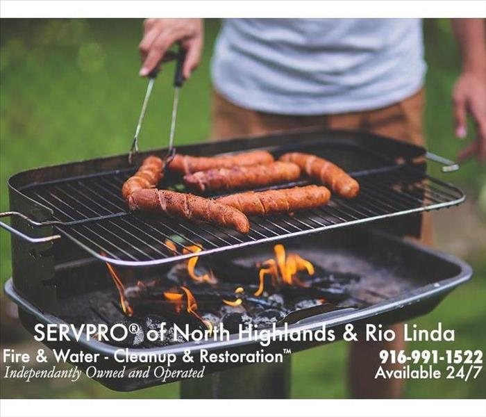 Fire Damage Grilling Tips from Your Friends at SERVPRO of North Highlands of Rio Linda